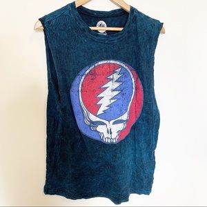 Grateful Dead Steal Your Face Muscle Tank